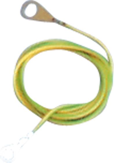 Zemnící propojovací kabel 1 m pro elektrický ohradník