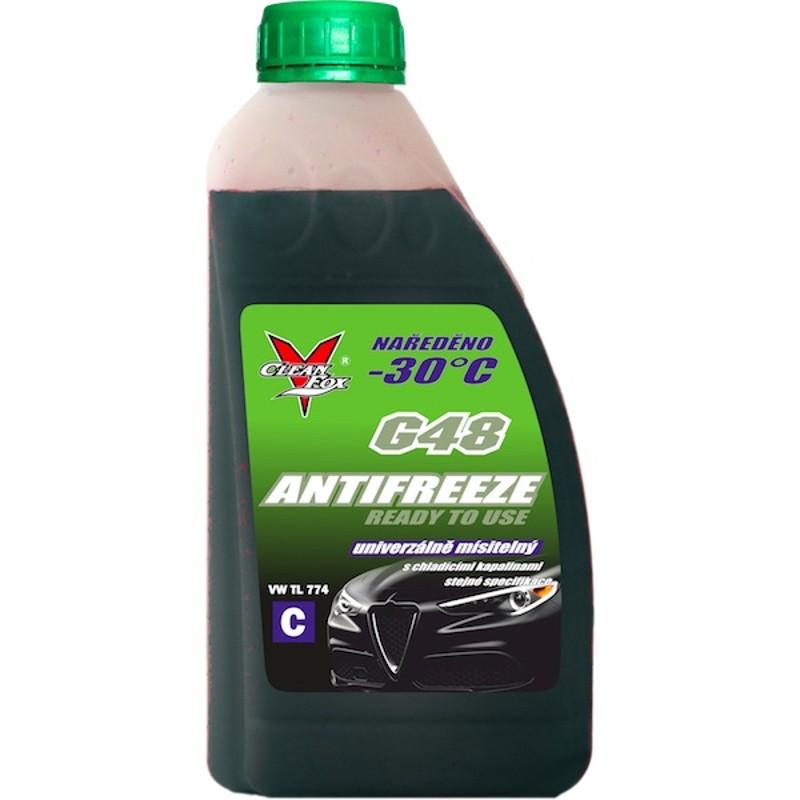 CleanFox nemrznoucí kapalina do chladičů G48, antifreeze