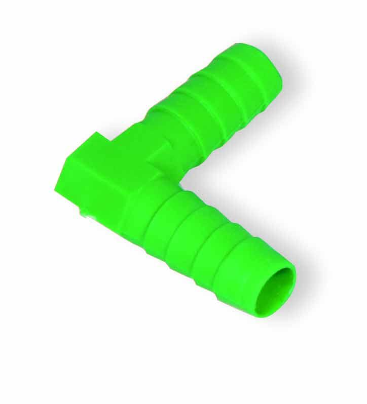 L spojka na hadičku 9 mm pro hadičkové rozvody k napáječkám pro králíky a drůbež