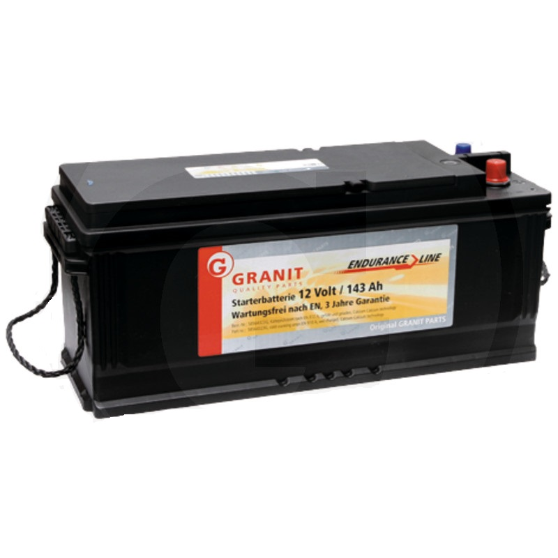Auto baterie Granit Endurance Line 12V / 143 Ah, patice B03 pro Case IH, Ford, Lamborghini