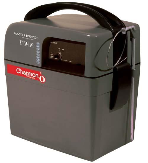 Chapron Master H30/230 kombinovaný 12/230V zdroj napětí pro elektrický ohradník, 2,3J