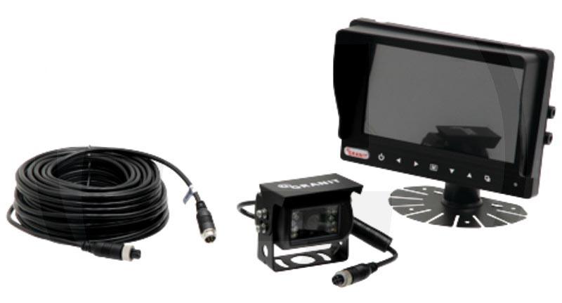 """Fotografie Barevná couvací a parkovací auto kamera a kamerový systém pro couvání s LCD monitorem 7"""""""
