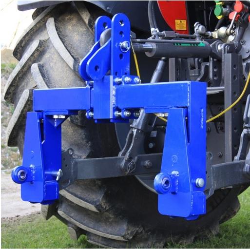 Tříbodová váha Agreto 6000 kg pro traktory, závěs s koulemi kat. 2 bez indikátoru