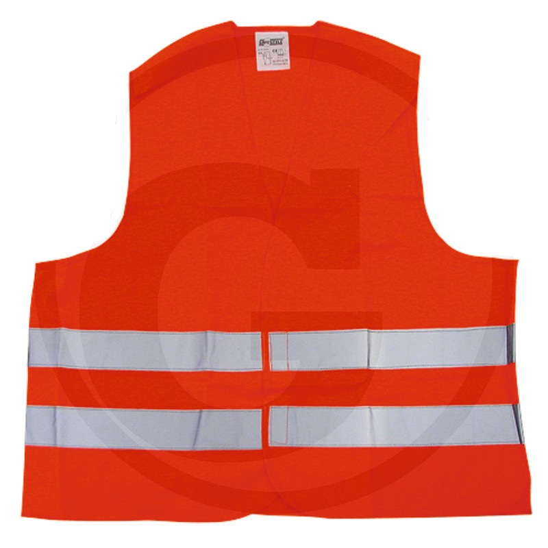 Reflexní vesta oranžová do auta i na koně