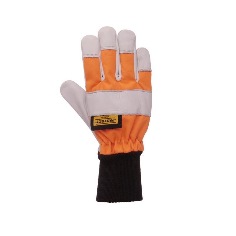 Dřevorubecké rukavice s ochranou proti proříznutí