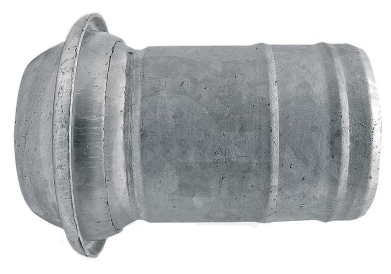 """Berselli Ital díl samec 5"""" A=125 mm spojky pro fekální vozy s hadicovým nátrubkem"""