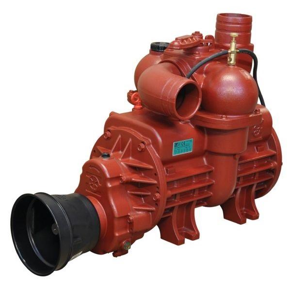 Vývěva na fekál B&P MEC 13500 M, kompresor s olejovým čerpadlem kapacita 13845 l/min