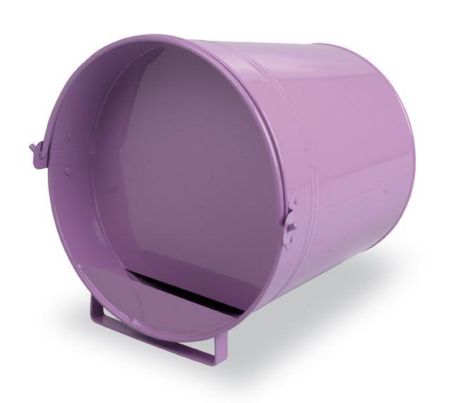 Napájecí kbelík 7 l Gaun pro drůbež plechový barvený
