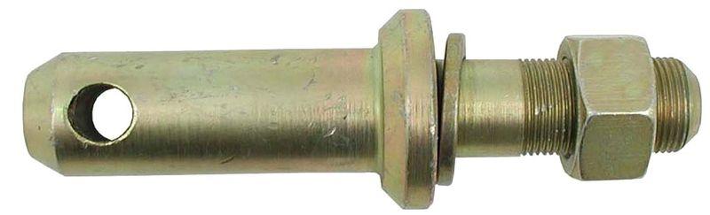Kolík kat. 2 pro spodní závěs třetího bodu délka 147 mm závit M27 x 1,5