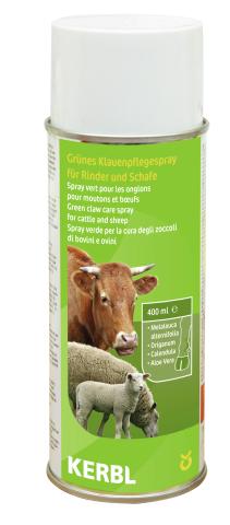Zelený hojivý sprej na paznehty ovcí a skotu 400 ml