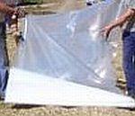 Silážní plachta podkladová – mikroplachta 16 x 50 m, 0,004 mm, čirá