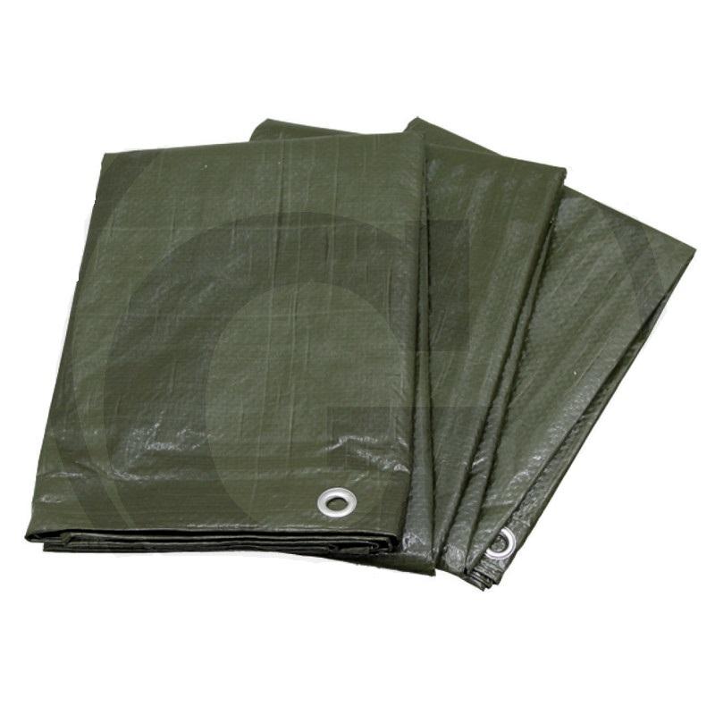 Nepromokavá plachta 110 g/m2 PE zakrývací na seno, slámu, dřevo