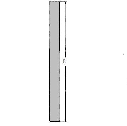 OKR 160 Trubka Kongskilde 2 m pozinkovaná