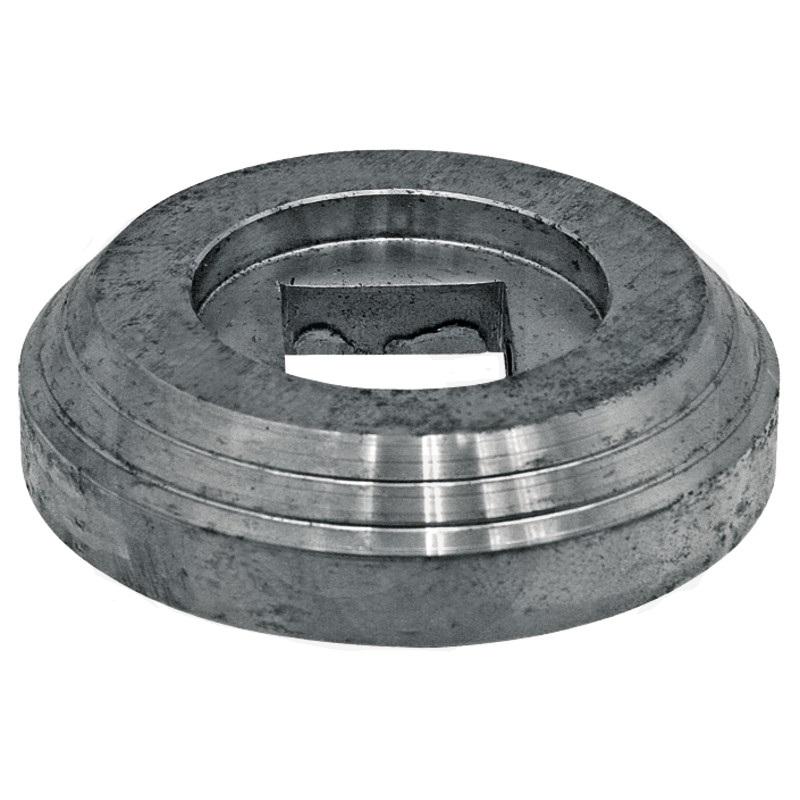 Vnitřní příruba diskového podmítače Kverneland  průměr 138 mm pro hřídel 40 x 40 mm