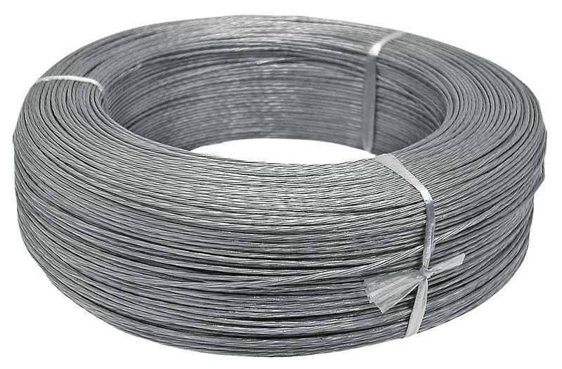 Ohradníkové ocelové lanko 1,2 mm x 500 m odpor 0,96 Ohm/m pevnost v tahu 180-200 kg