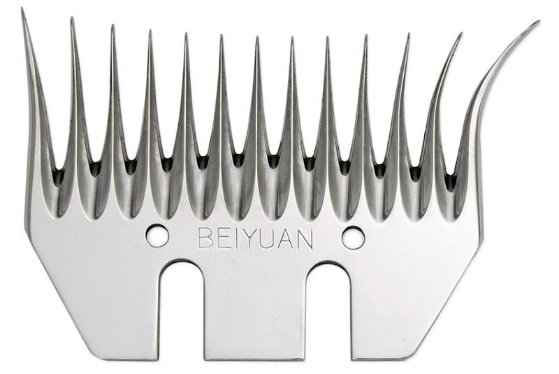 Beiyuan LB široký spodní nůž na stříhání ovcí dlouhý úkos 6 mm