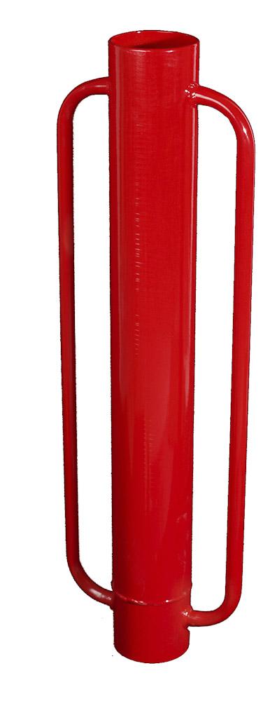 Zatloukač kůlů ruční OLLI 15 kg - beranidlo na zatloukání kůlů do průměru 90 mm