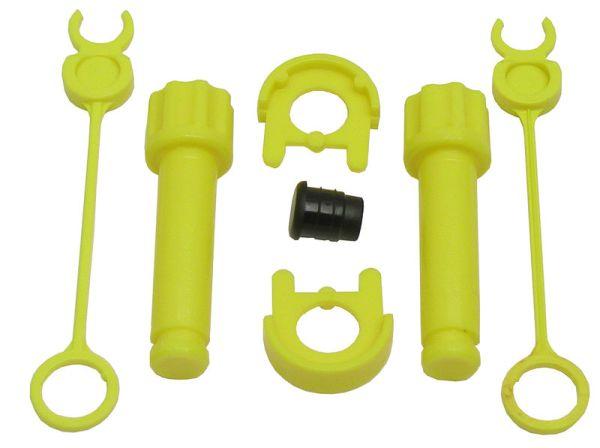 Rolly Toys montážní sada pro čelní nakladač a trojstranný sklápěč