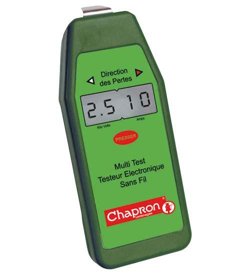 Chapron bezdrátový multi tester pro zjišťování ztráty napětí v elektrickém ohradníku