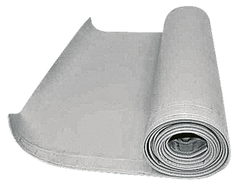 Ochranná plachta na žací lišty rotaček šedá šířka 470 mm