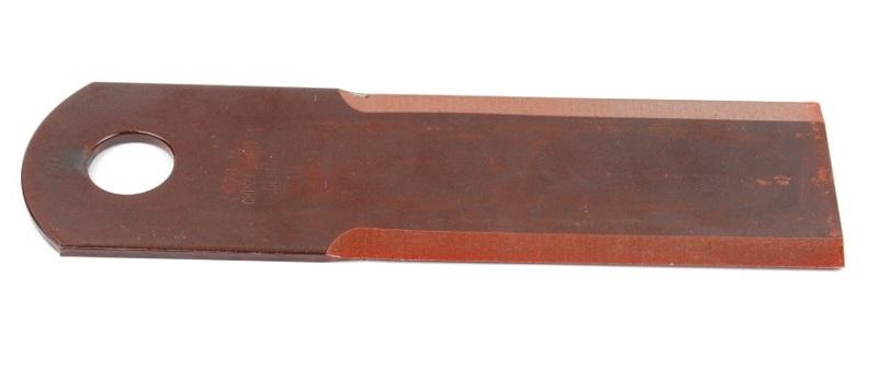 Nůž do drtiče slámy Rasspe hladký pro Biso, Deutz, Dronningborg, Case, JD tloušťka 4 mm