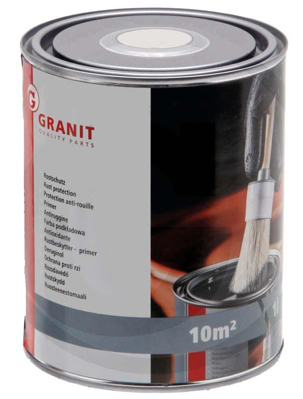 Antikorozní barva šedá 1000 ml