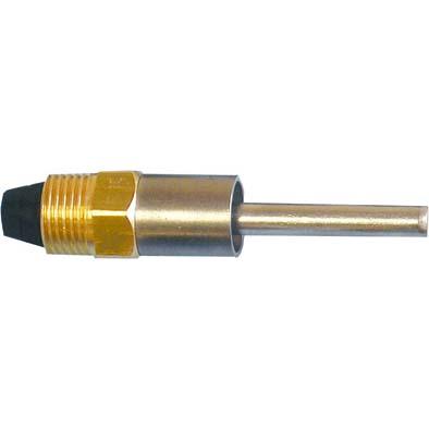 Smáčecí ventil s kolíkem do samokrmítek pro výkrm prasat