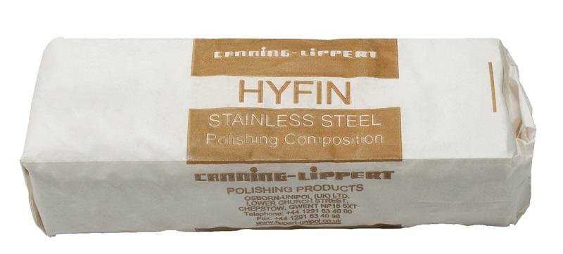 Značková brusná pasta Hyfin na nerezovou ocel 800 g