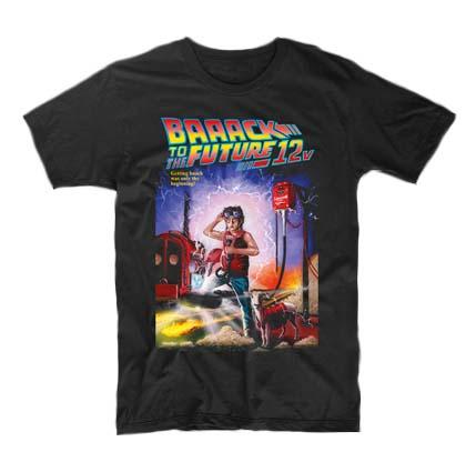 Tričko pro střihače Baaack to the Future