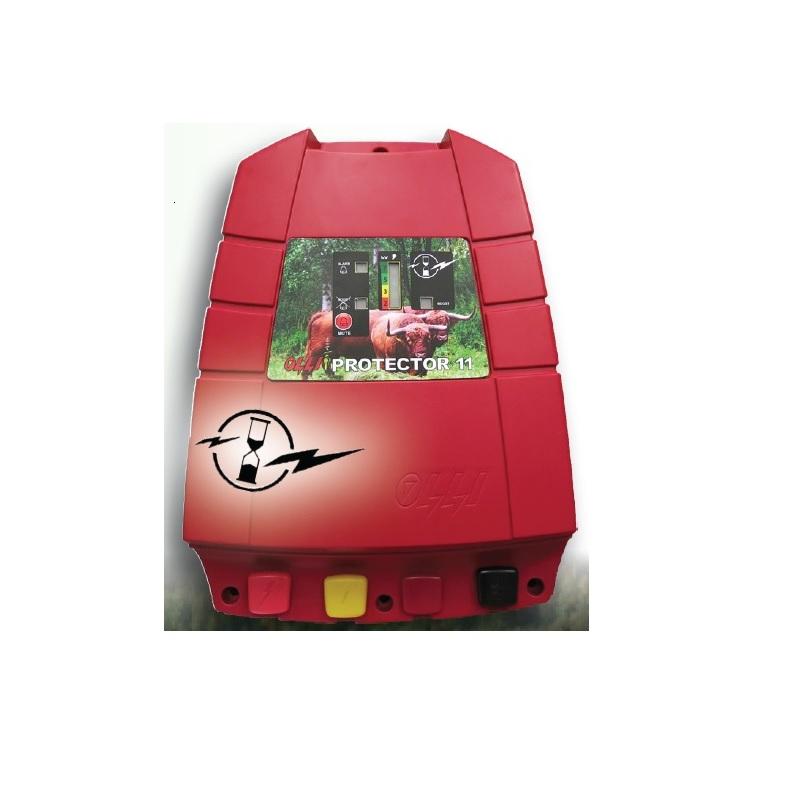 Síťový zdroj pro elektrický ohradník OLLI 11 Protector napětí 230V, 11J, chytrý, 2 výstupy